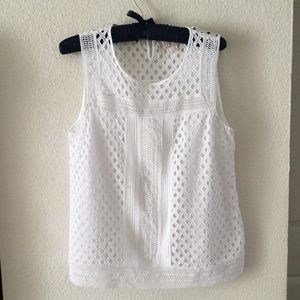Skies Are Blue Cupertino Eyelet Top